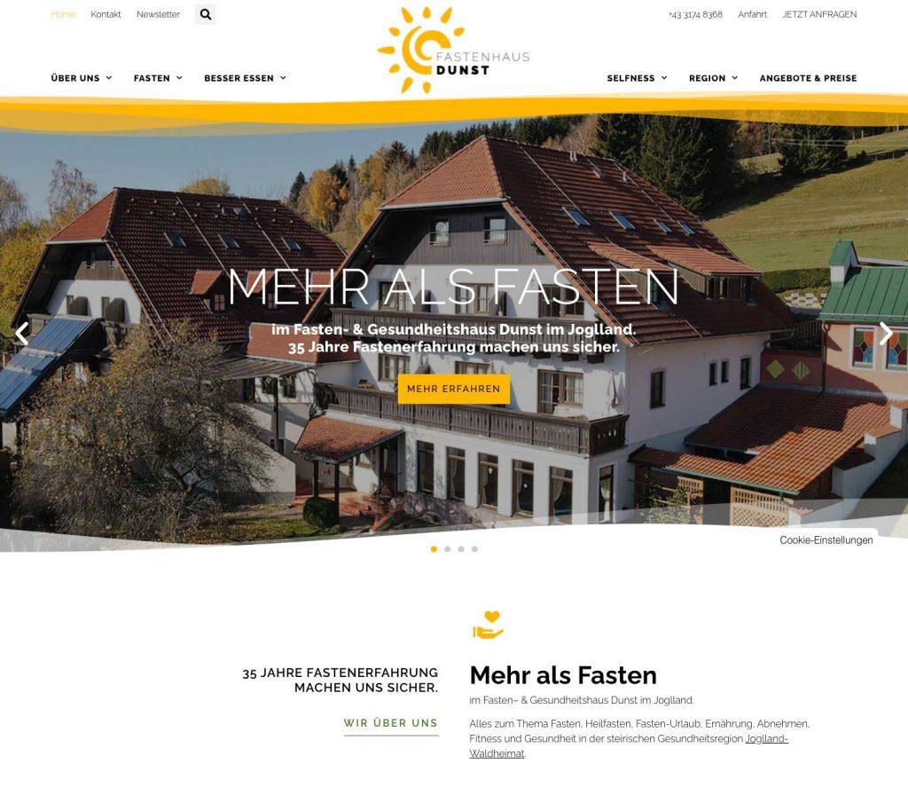 Startseite Teil 1 - Fastenhaus Dunst